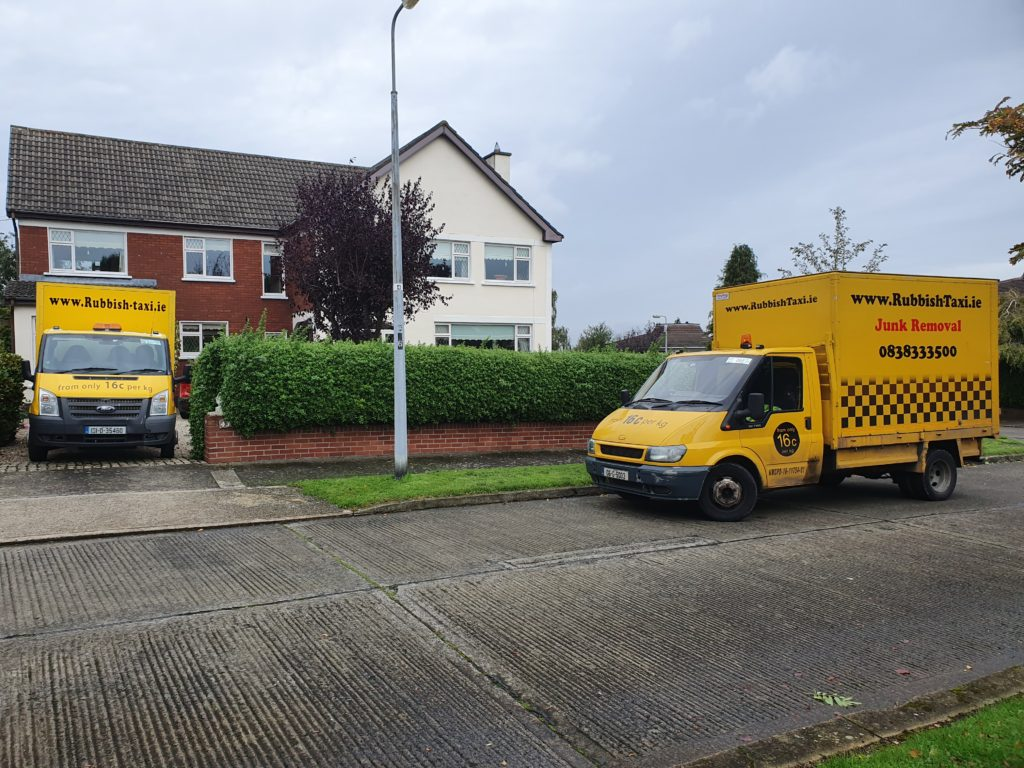 Rubbish removal Tallaght - Waste disposal service from Rubbish-Taxi