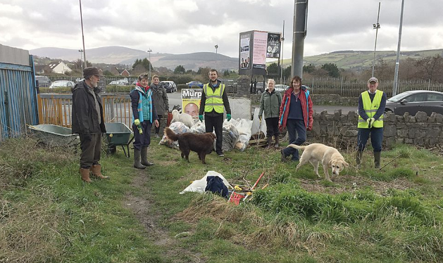 Drink related waste collected by environmental groups in Tallaght