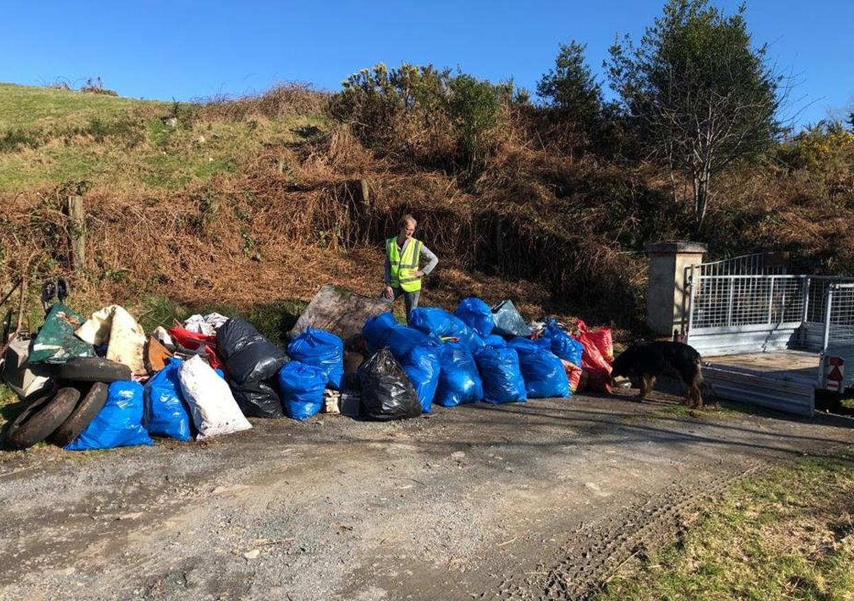 1,000 bags of litter collected in Bray